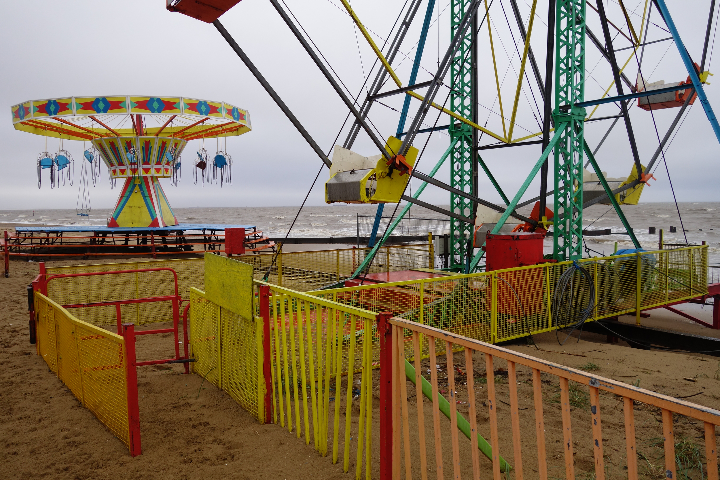 Crumbling Cleethorpes attractions.