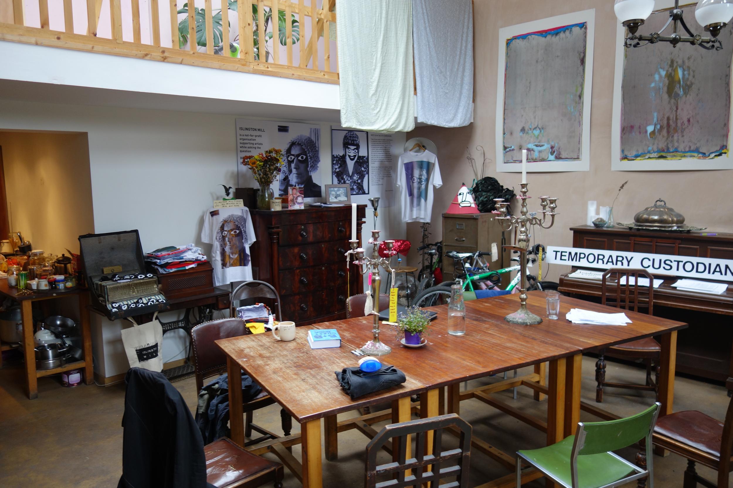 Islington Mill guest house.