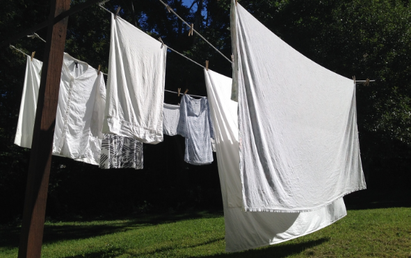 Morning Clothesline Reverie - September 29th, 2014