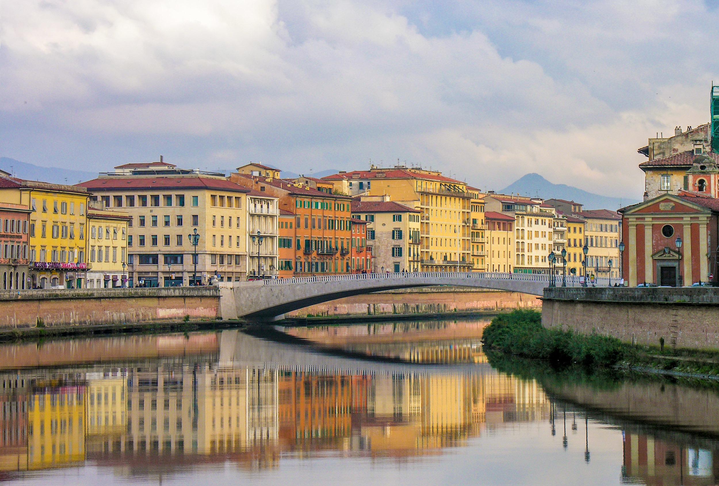 The Arno Pisa