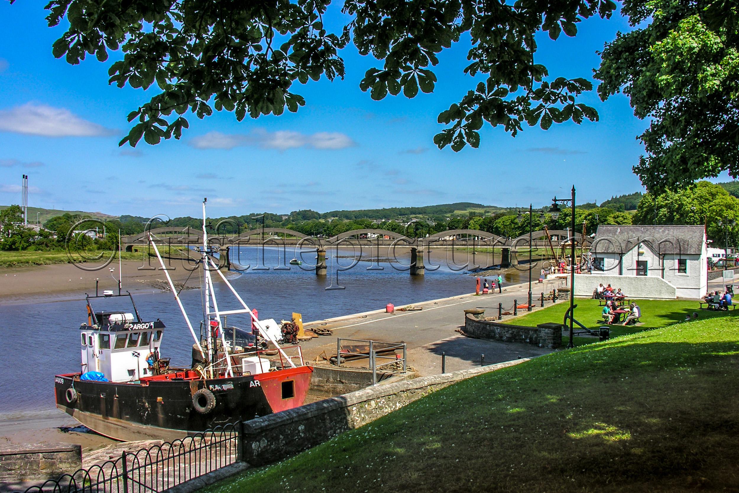 Kirkcudbright harbour 2