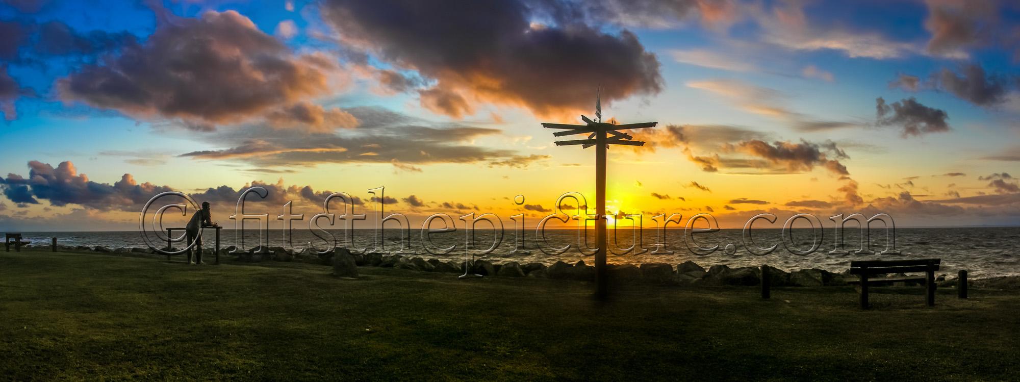 Port William sunset