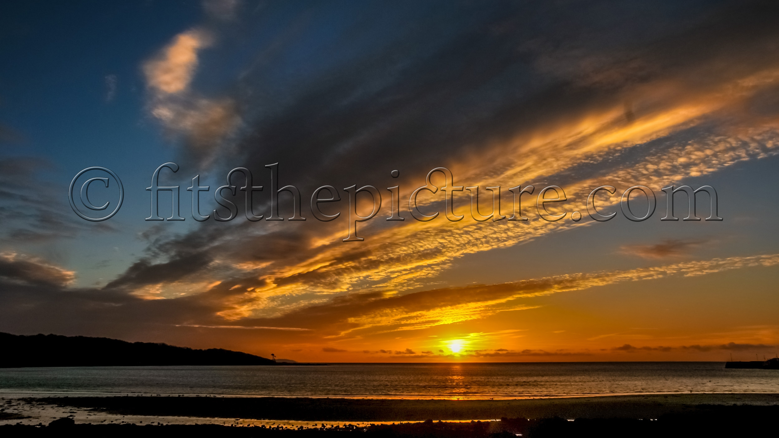 Garlieston at sunrise
