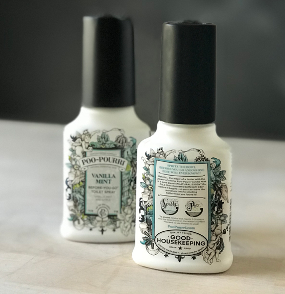 Poopouri Package Illustration Design