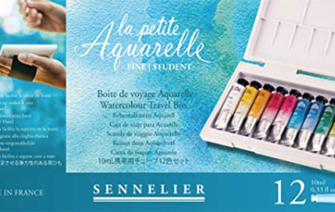 Sennelier water color paints