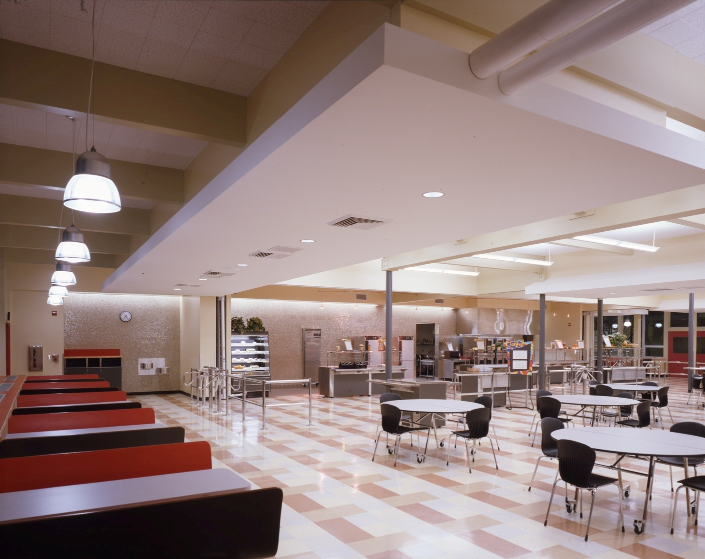 North Eugene High School Cafeteria