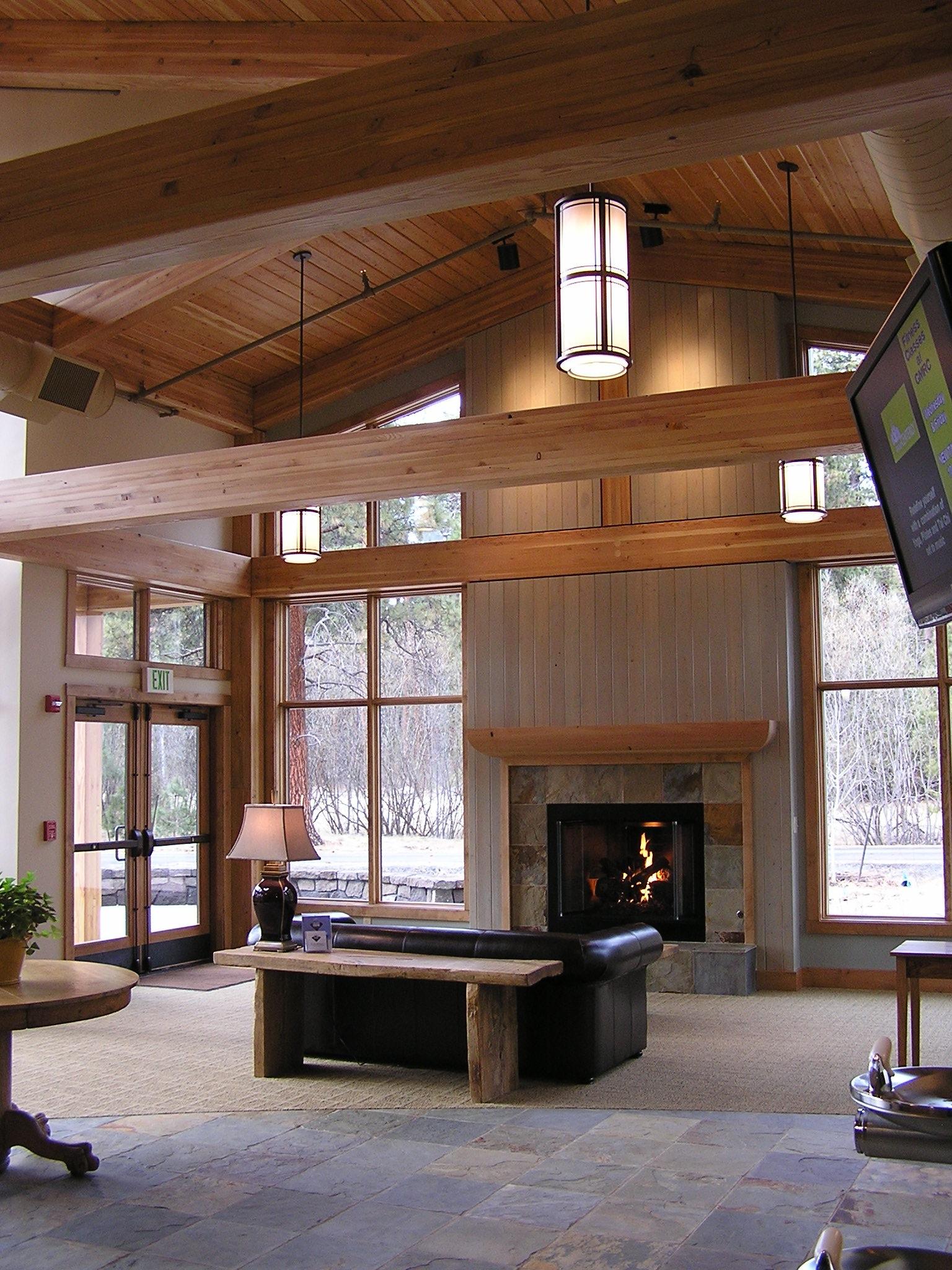 Welcome Center - Black Butte Ranch - Oregon