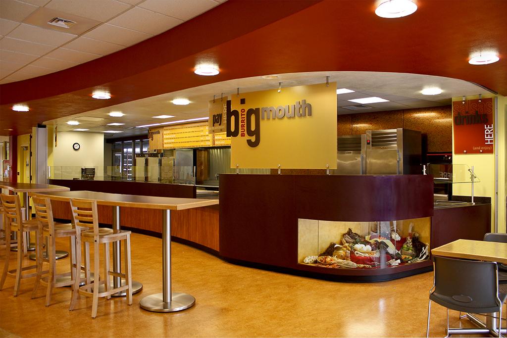 Big Mouth Burrito - University of Oregon