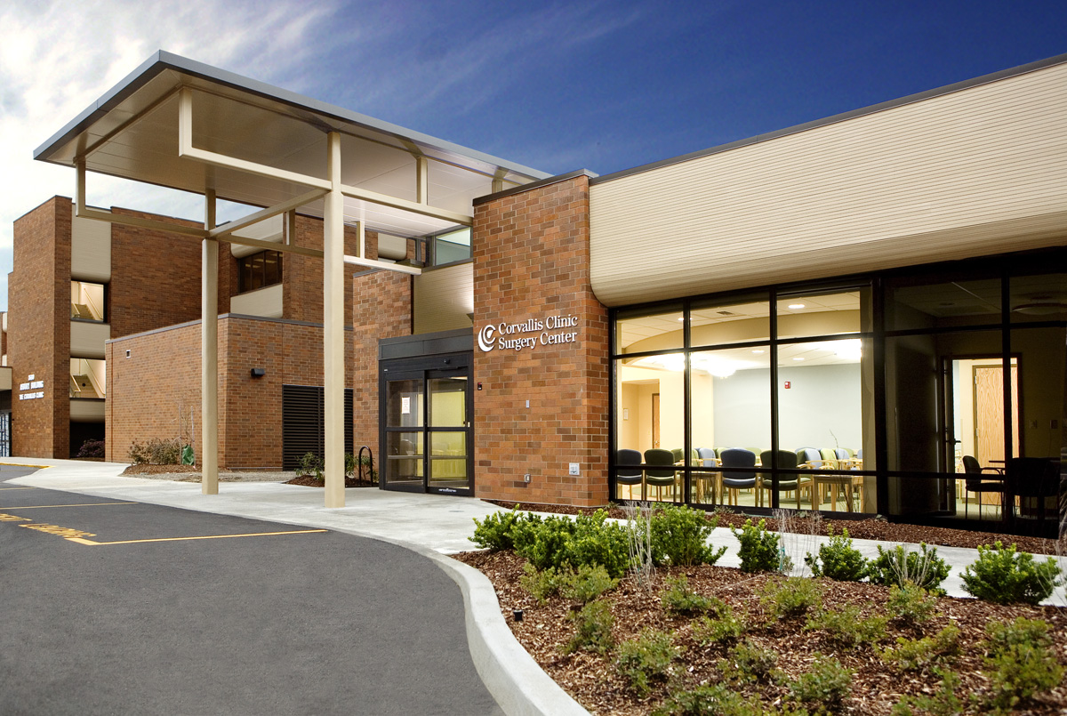 Corvallis Clinic Surgery Center with Boulder Associates Architects