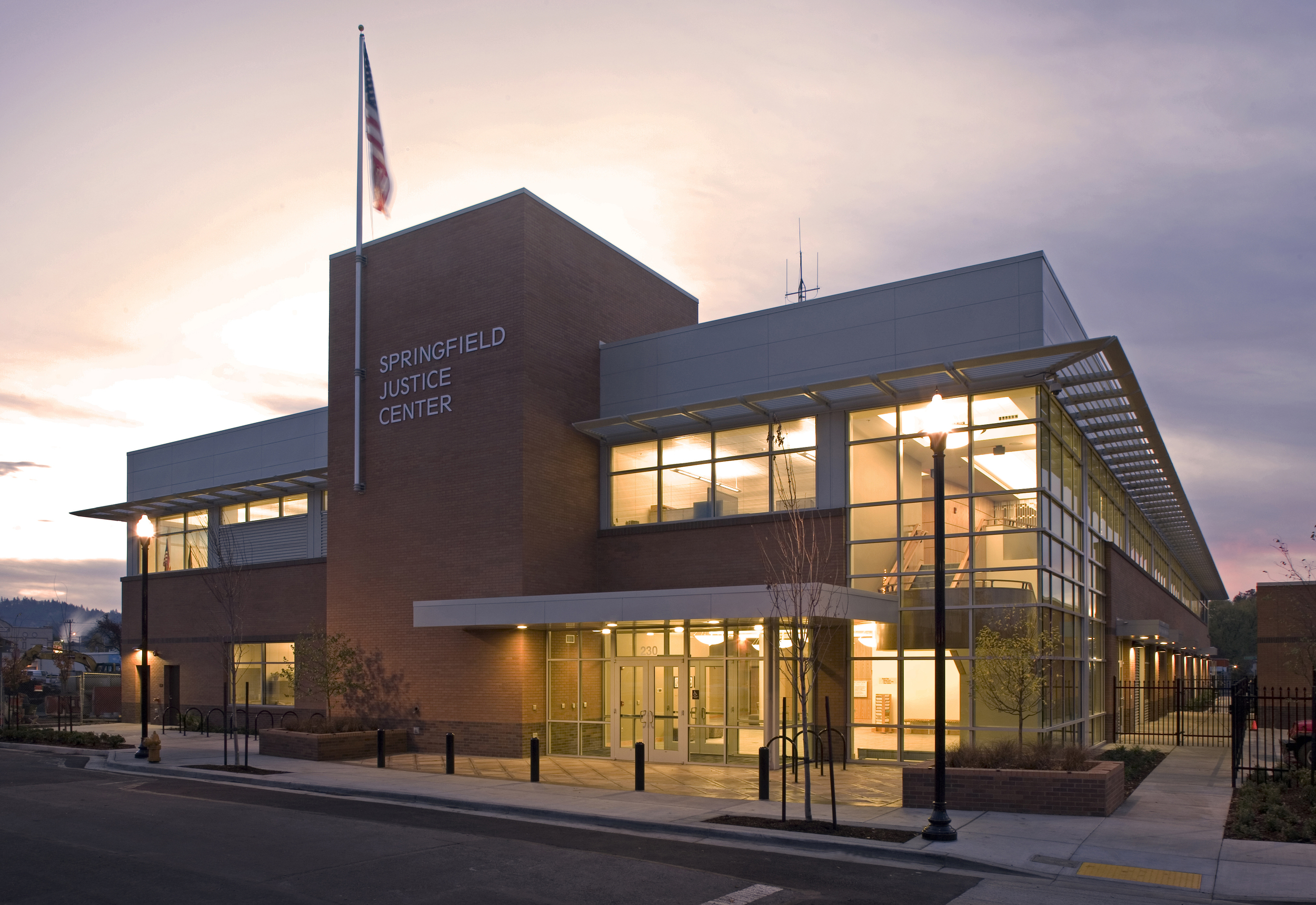 Springfield Justice Center, with Rosser International, Inc