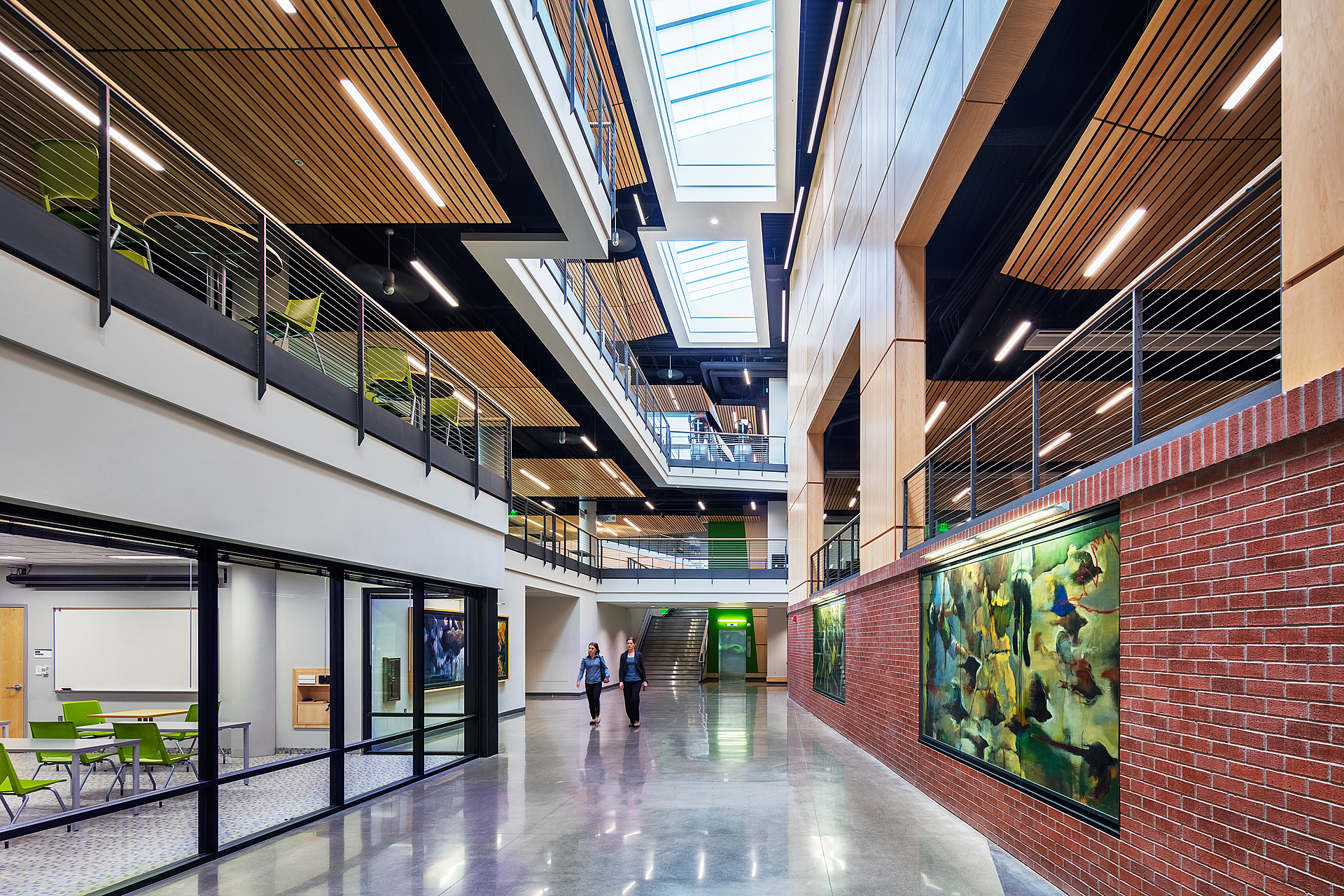 Student Recreation Center, University of Oregon, with RDG Planning and Design