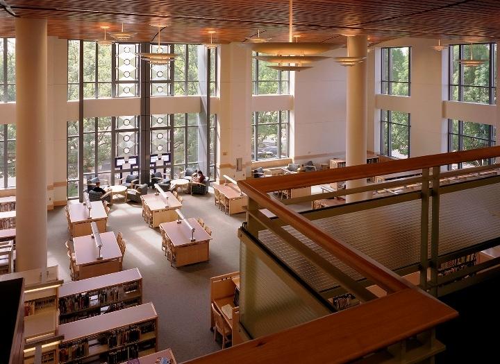 Eugene Public Library, with SBRA Architecture