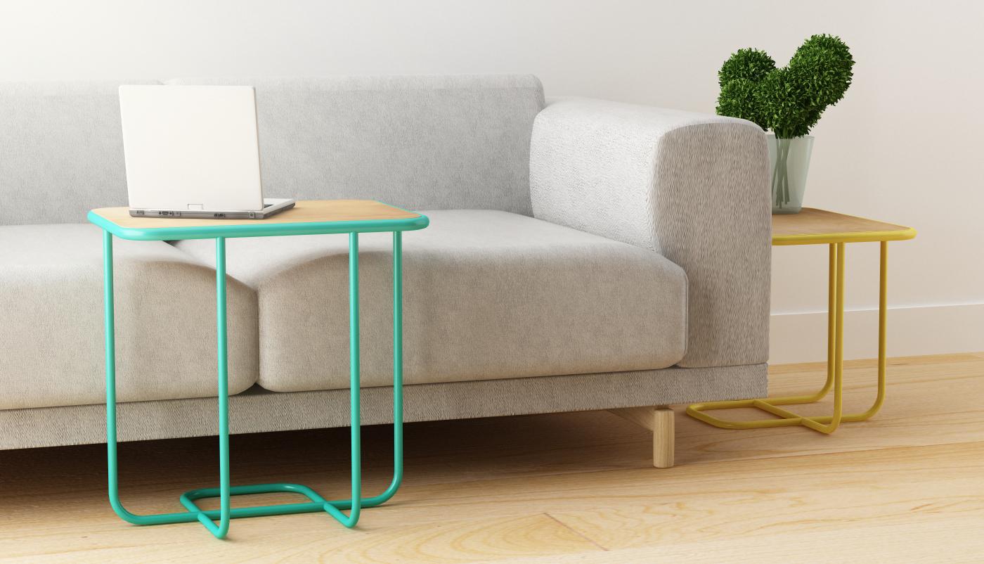 Line Tables Silvia Cenal Design Studio