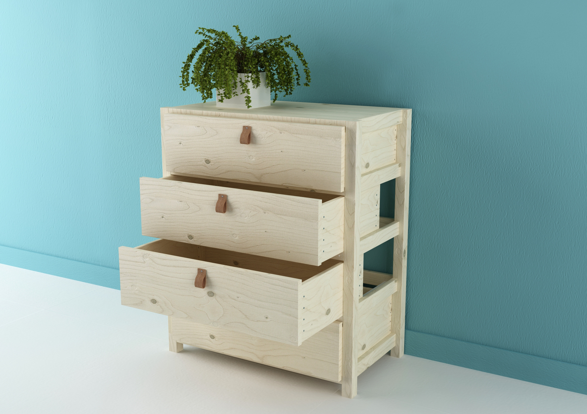 Raspa drawer by Silvia Ceñal