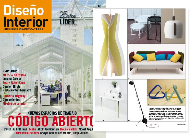 Diseño Interior_Silvia Ceñal_Raf lamp_Cowbell lamp