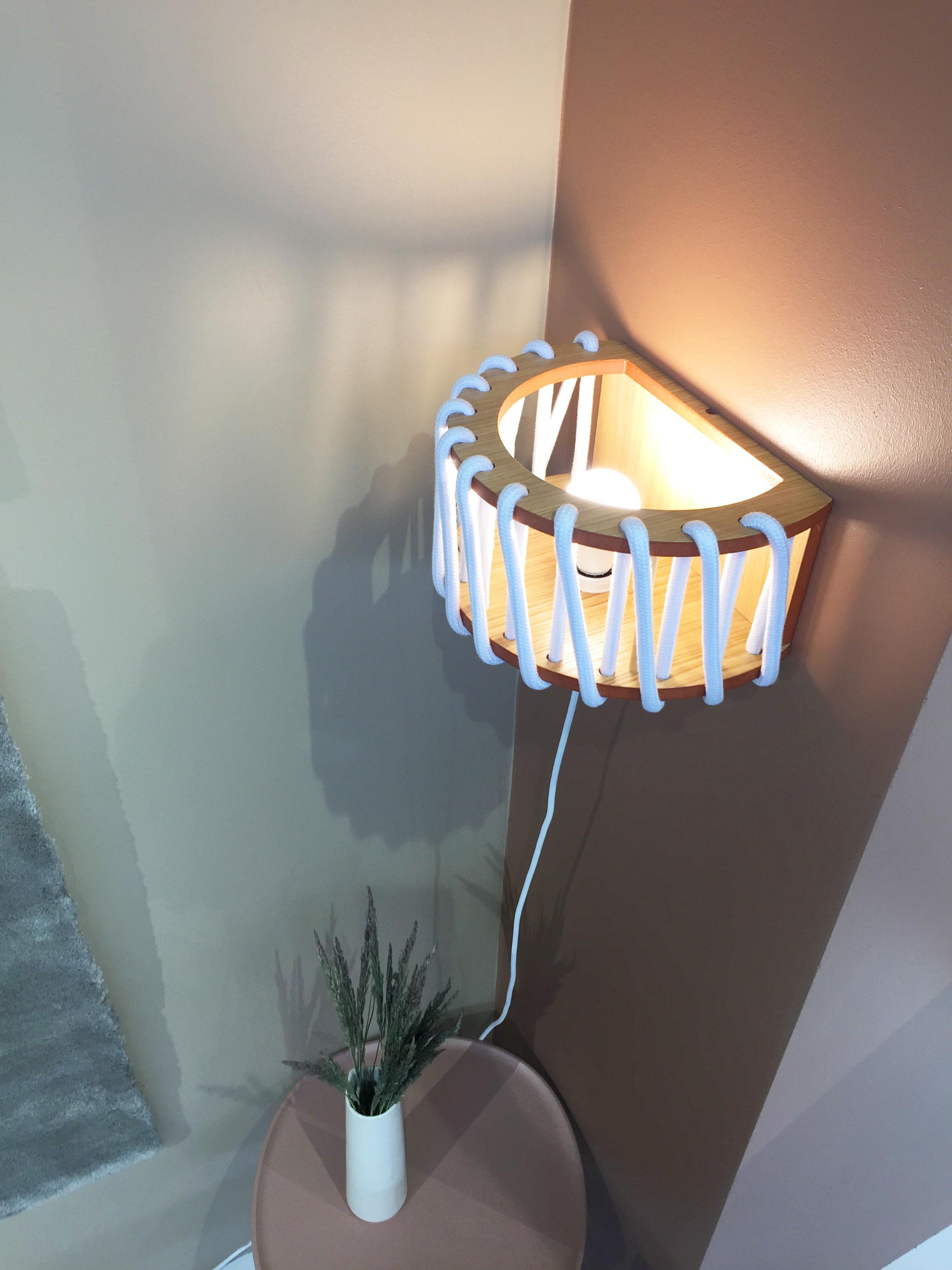 Macaron wall lamp for emko by silvia ceñal
