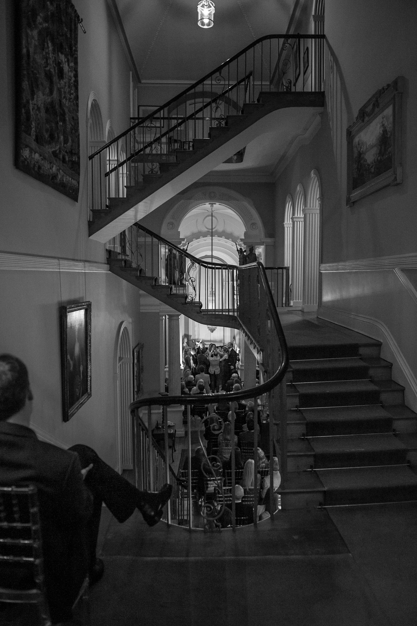 Jamie's amazing staircase.