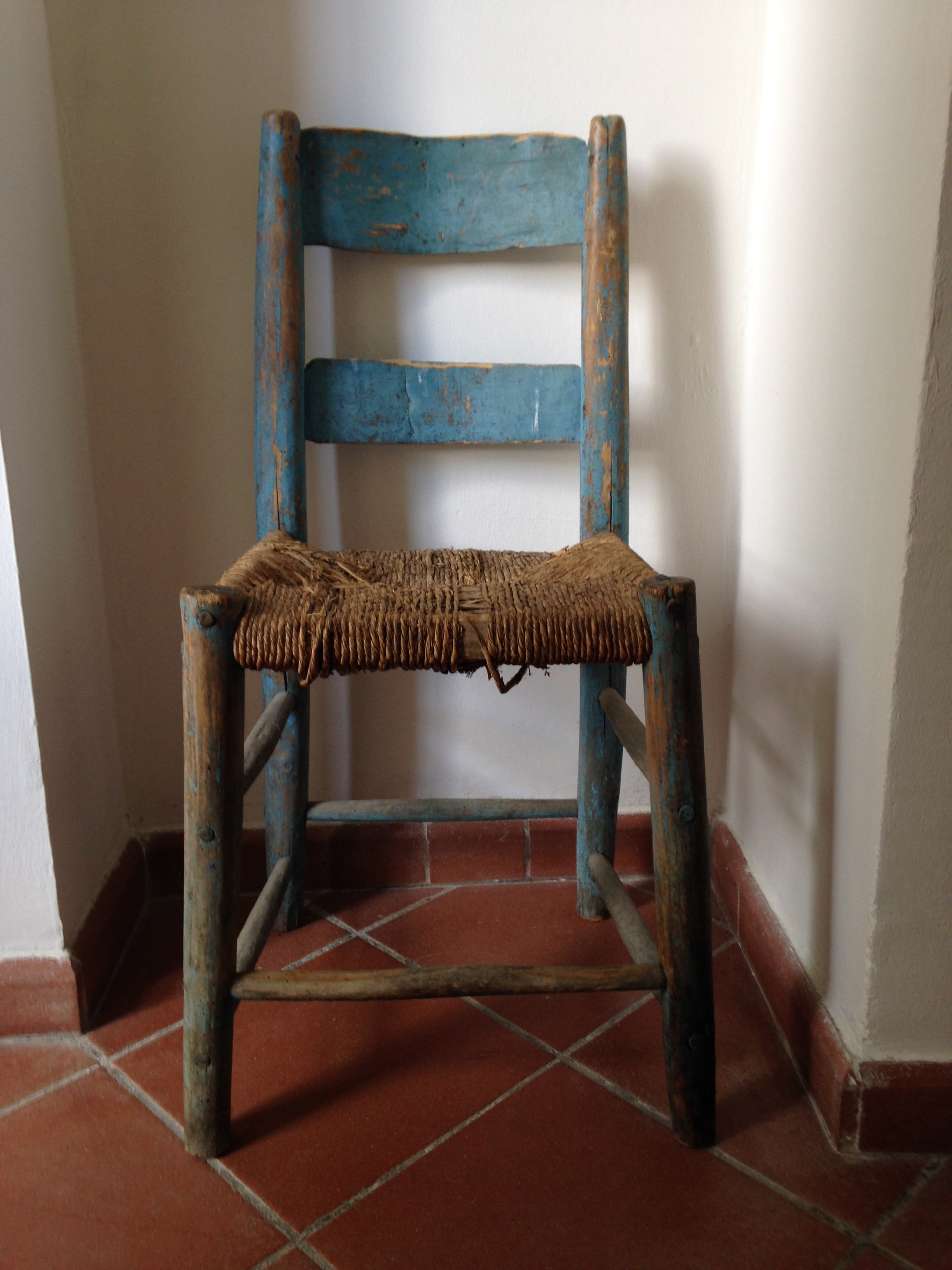 Blue Chair at Arte Studio Ginestrelle
