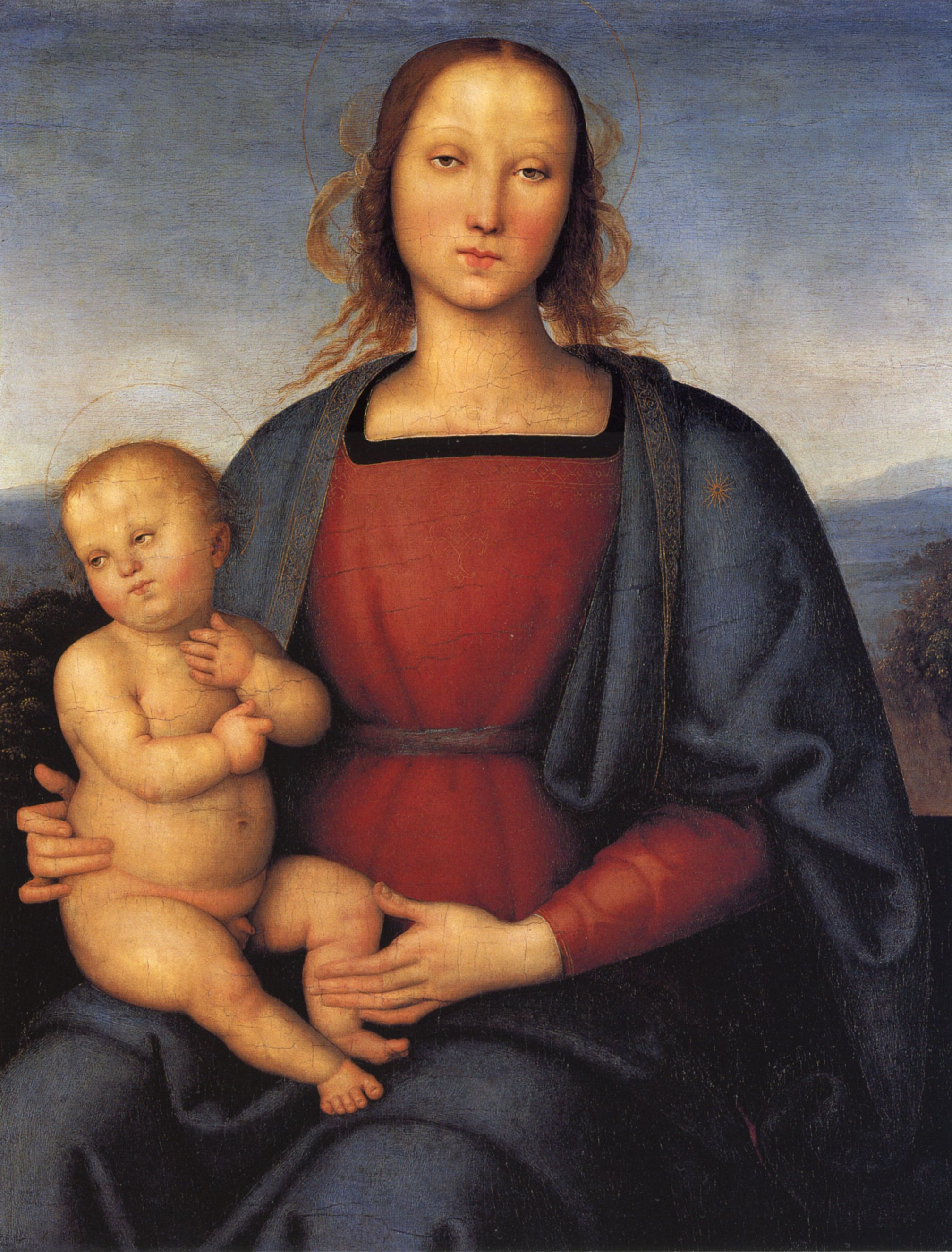 Pietro Perugino,  Madonna and Child,  1500