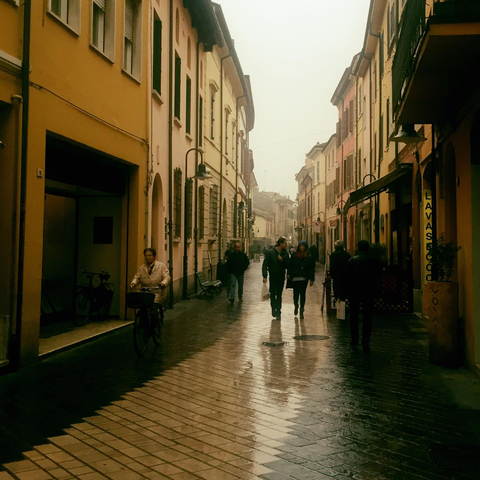 The Street I Walked Down When I First Arrived in Ravenna