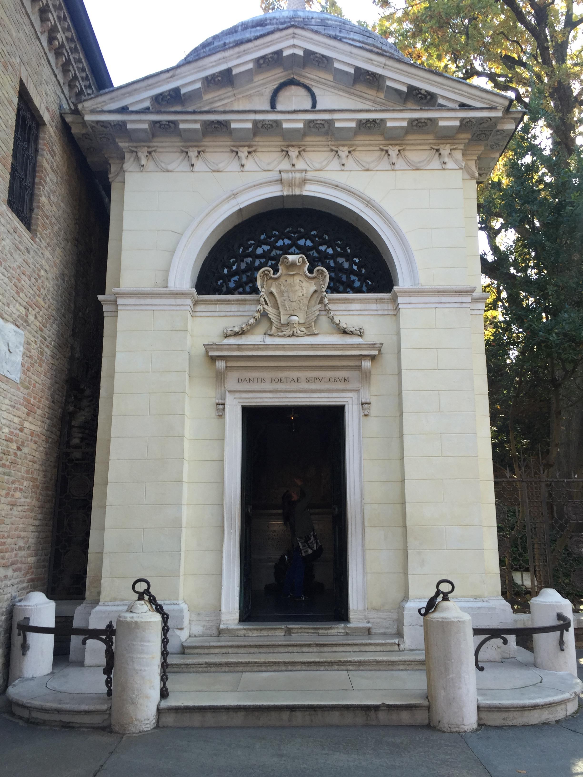 Tomba di Dante, 1780 A.D.