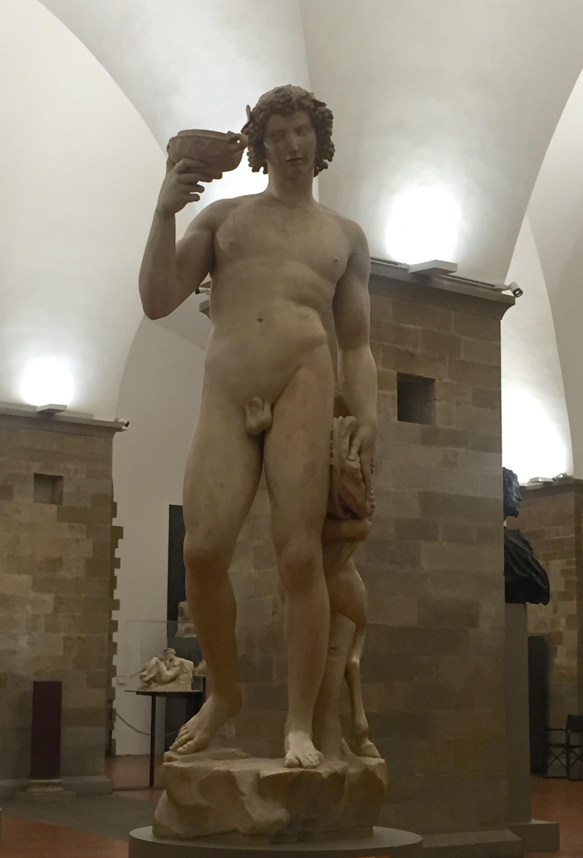 Michelangelo, David, 1496- 1497, Marble