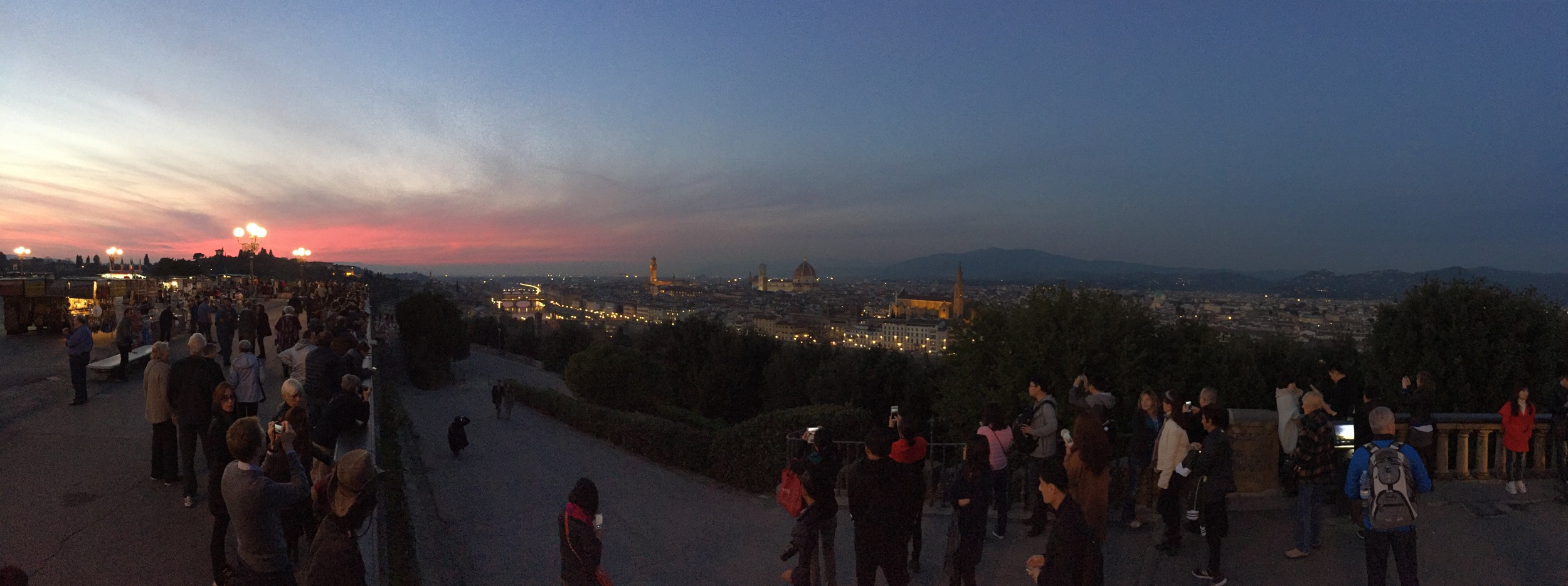 The View of Florence from Piazzale di Michelangelo