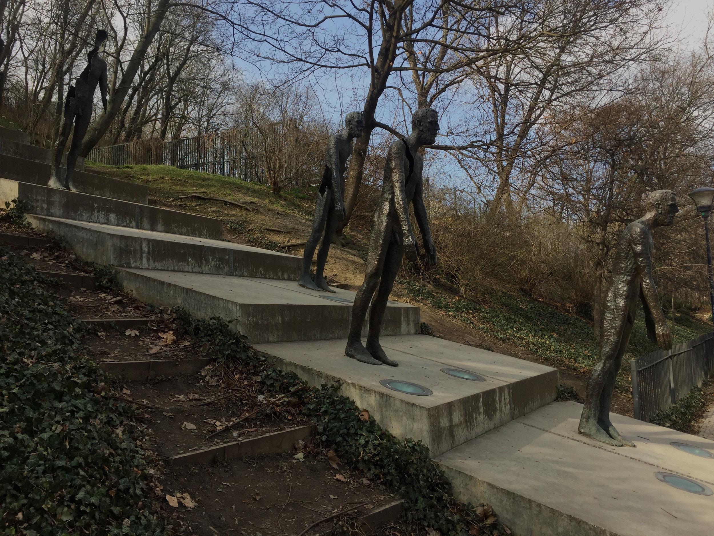 Sculptor:Olbram Zoubek, Architects:Jan Kerel and Zdeněk Holzel, Memorial to the Victims of Communism, 2002