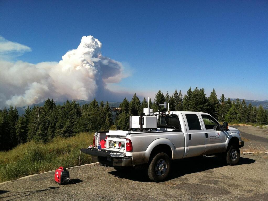 CSU-MAPS at the Rim Fire, Yosemite, 2013