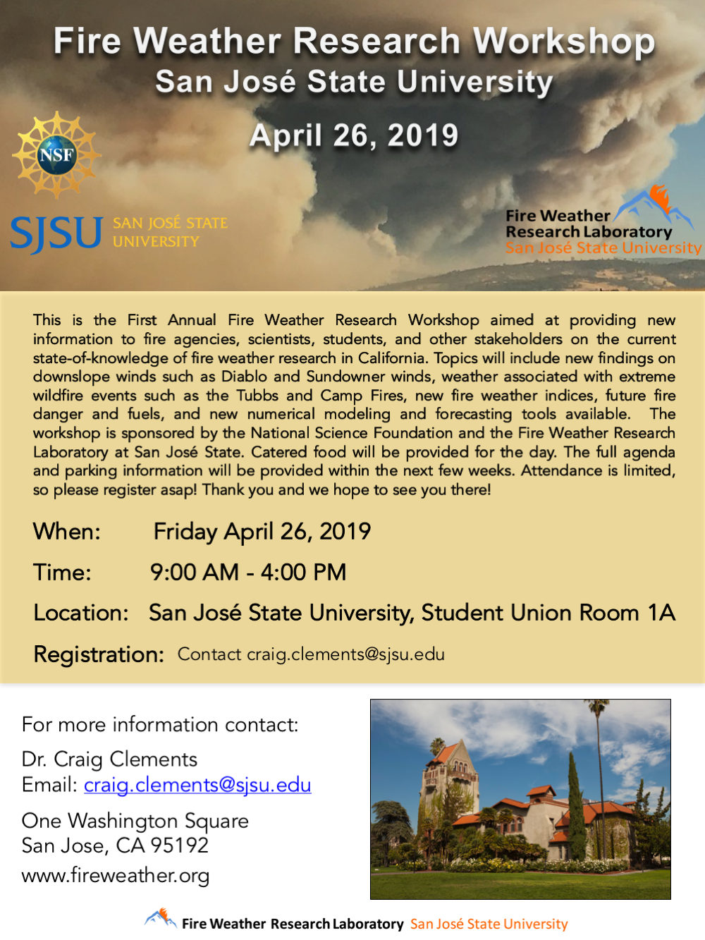 workshop — Fire Weather Research Laboratory