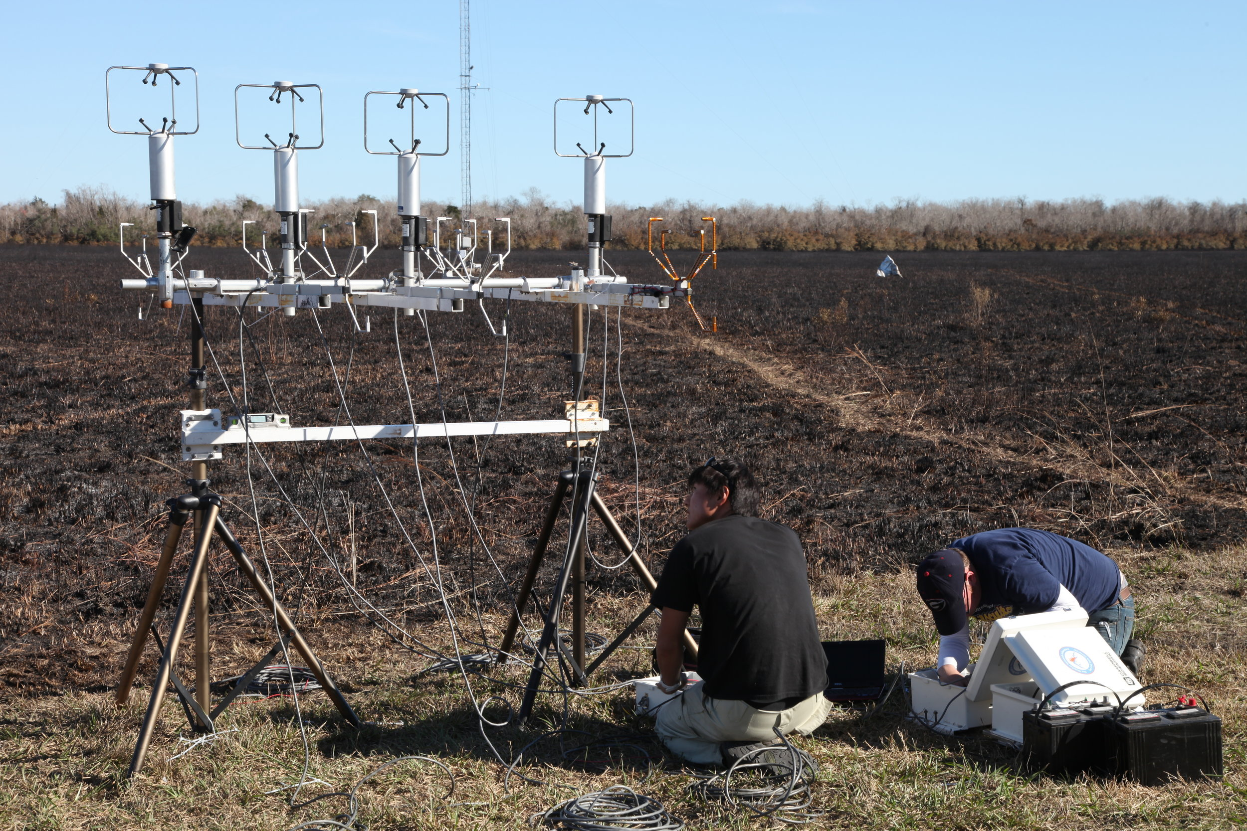 Sonic Anemometer field intercomparison after the Fireflux2 experiment, Texas, 2013.
