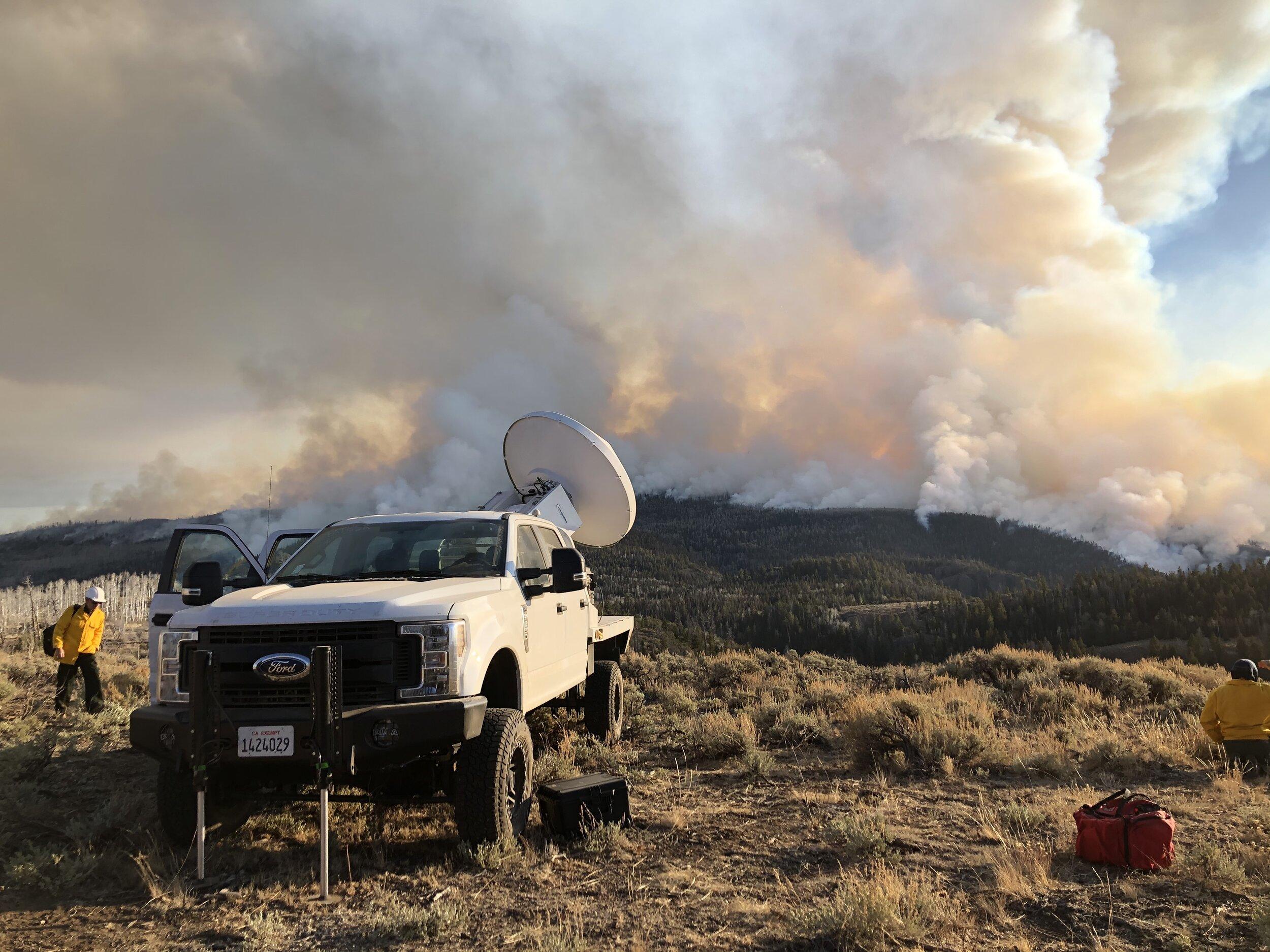 FASMEE experiment, Fishlake NF, Utah, 2019.