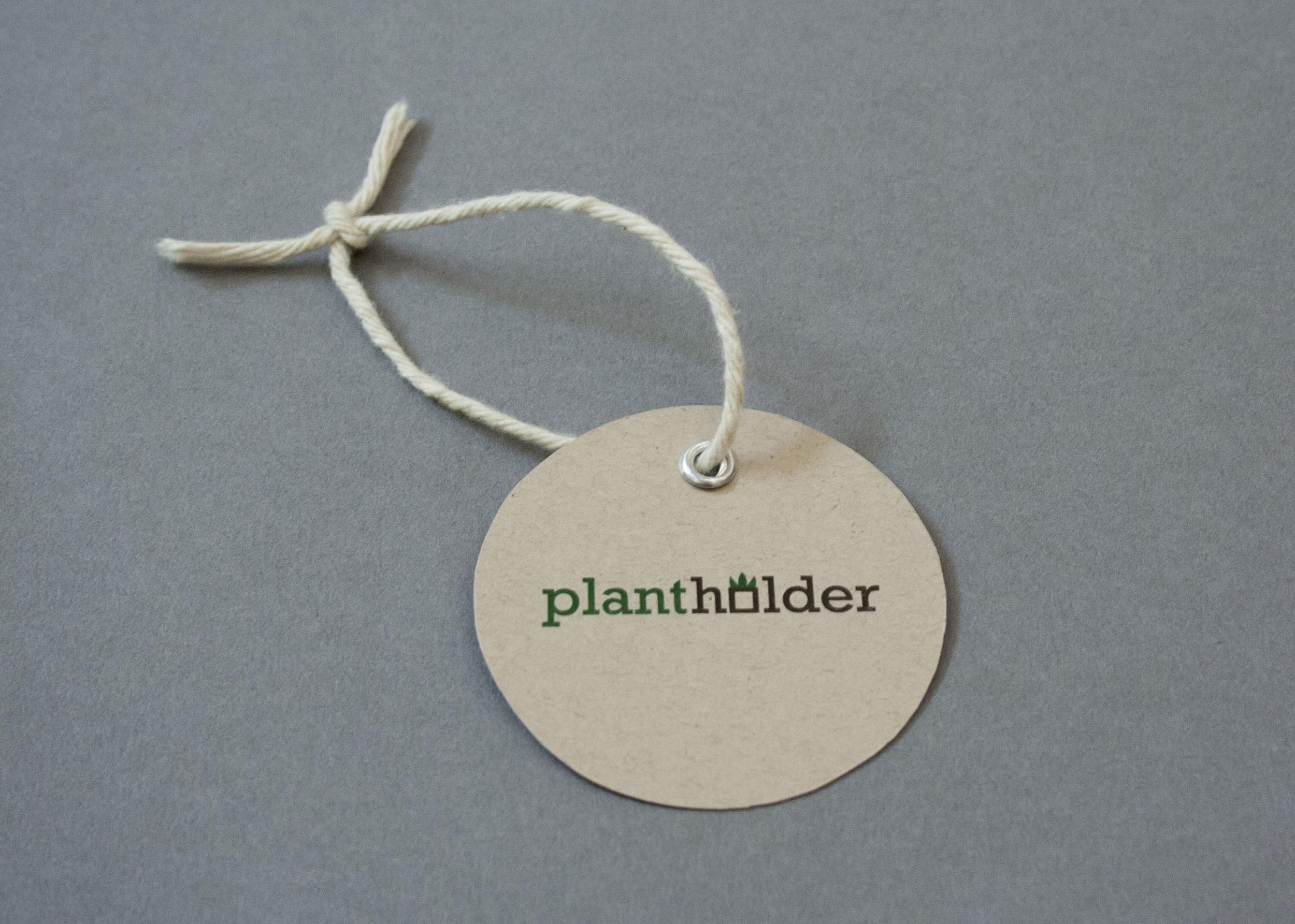 Plantholder logo and label