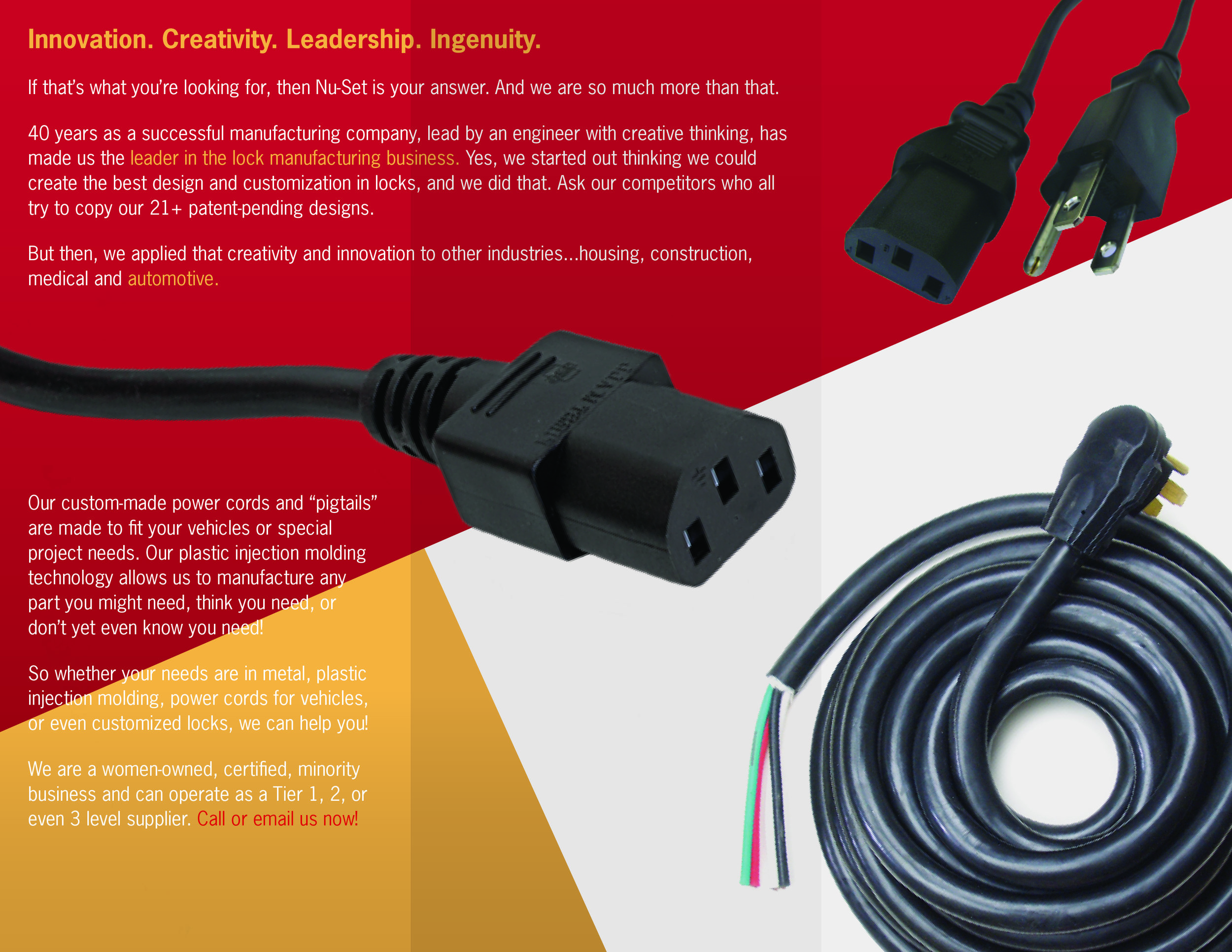 Toyota Conference Trifold Brochure |2014 -Automotive brochure (INSIDE)