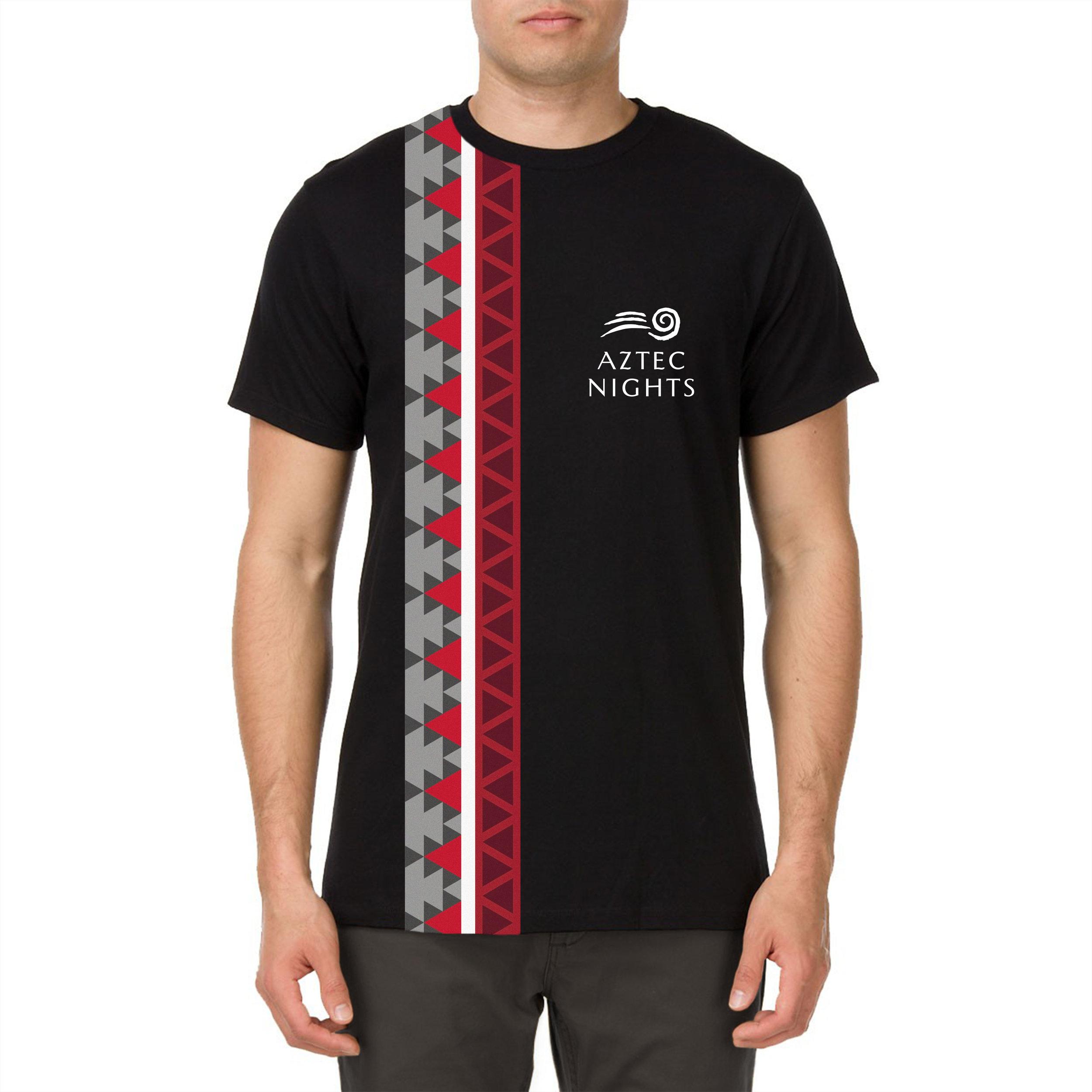 Aztec Nights Template 1 T-shirt design