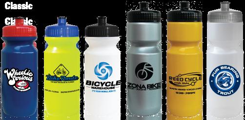 Basic bicycle water bottles