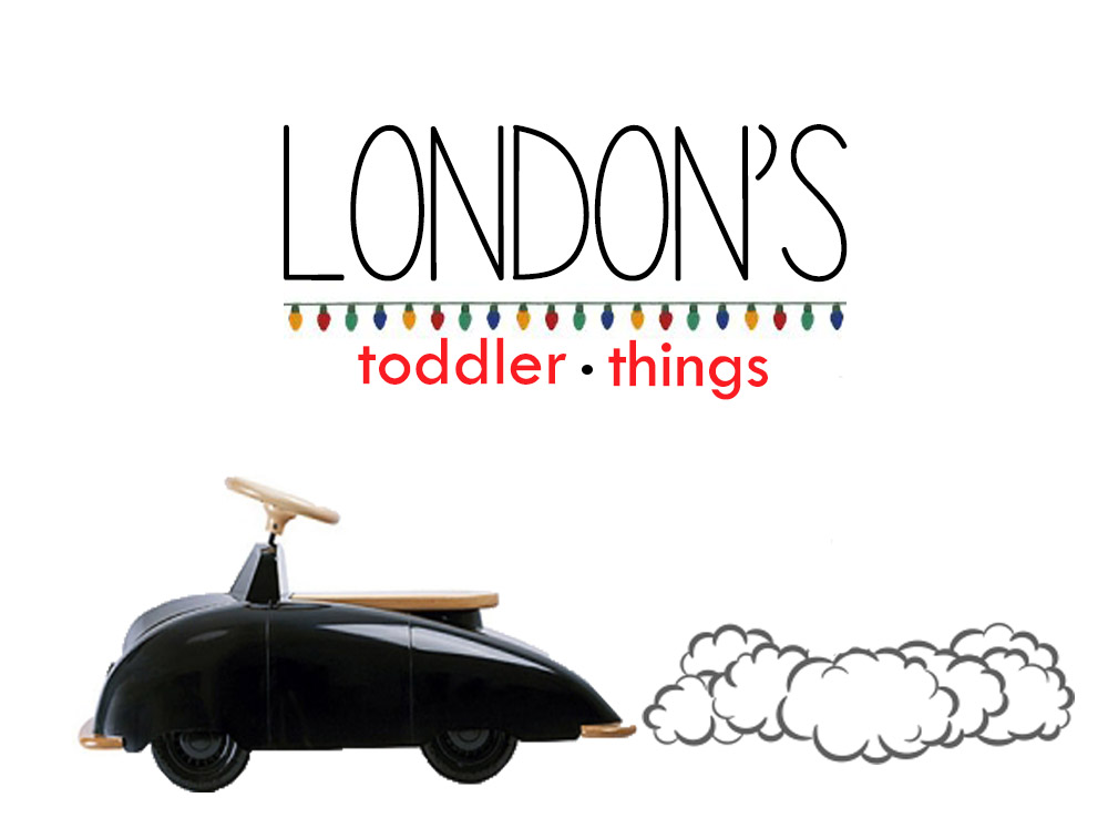 We're going to London for the Holidays!
