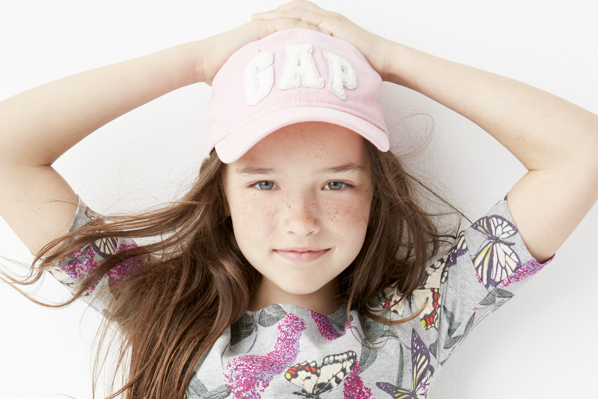 Farris Boyd in her favorite classic  GAP  baseball cap shot by   Lee Clower  | Written by: Taylor Kate