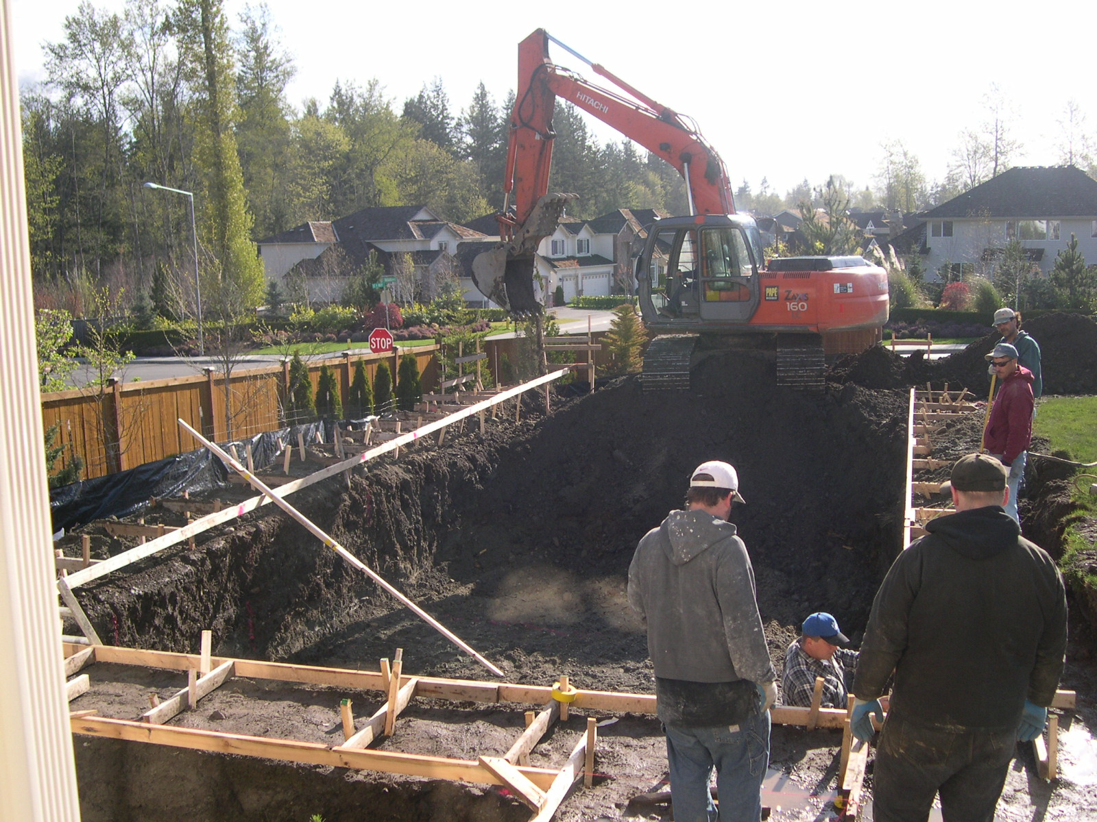 Excavation and Forming