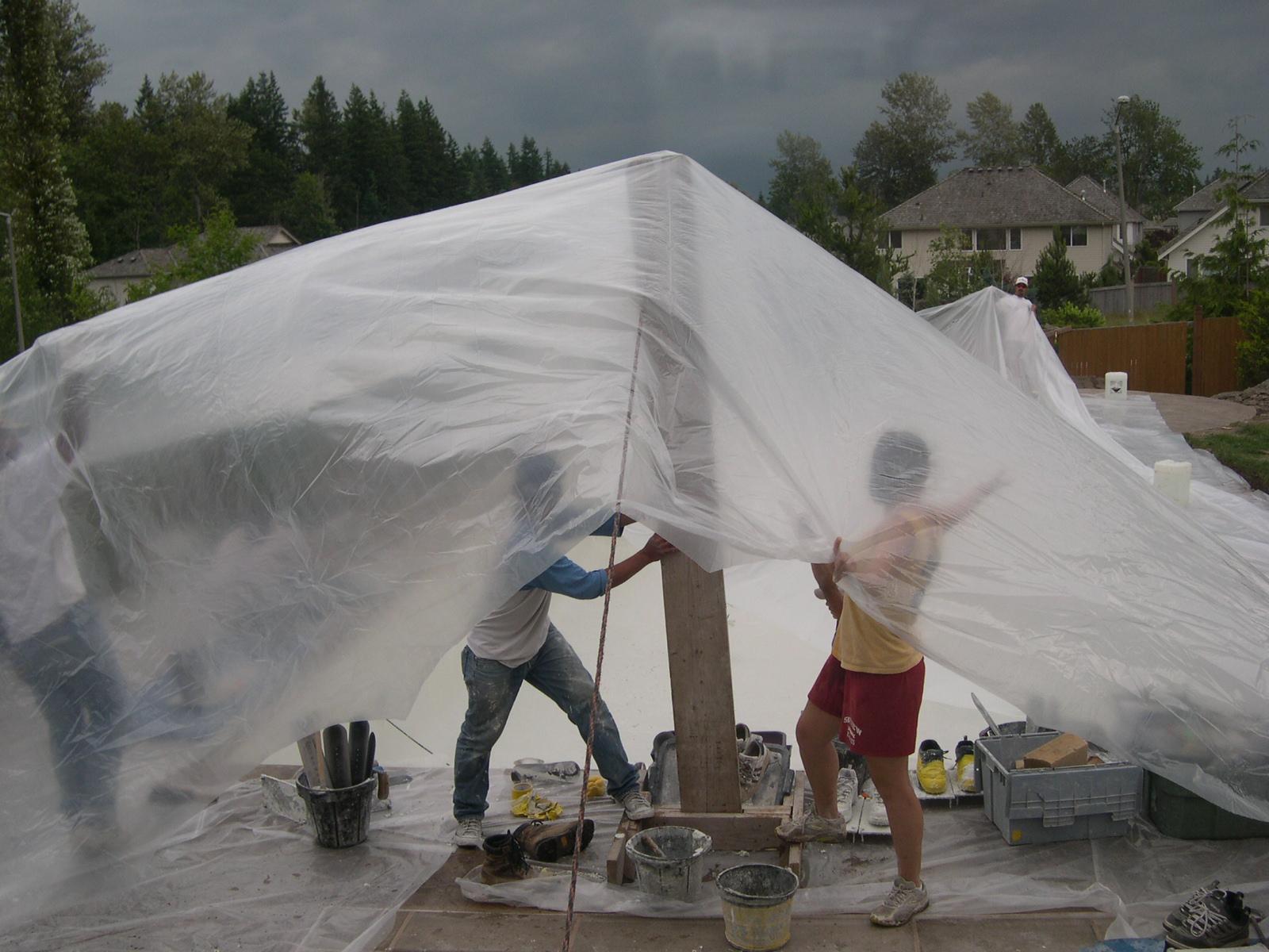 Pool Tent