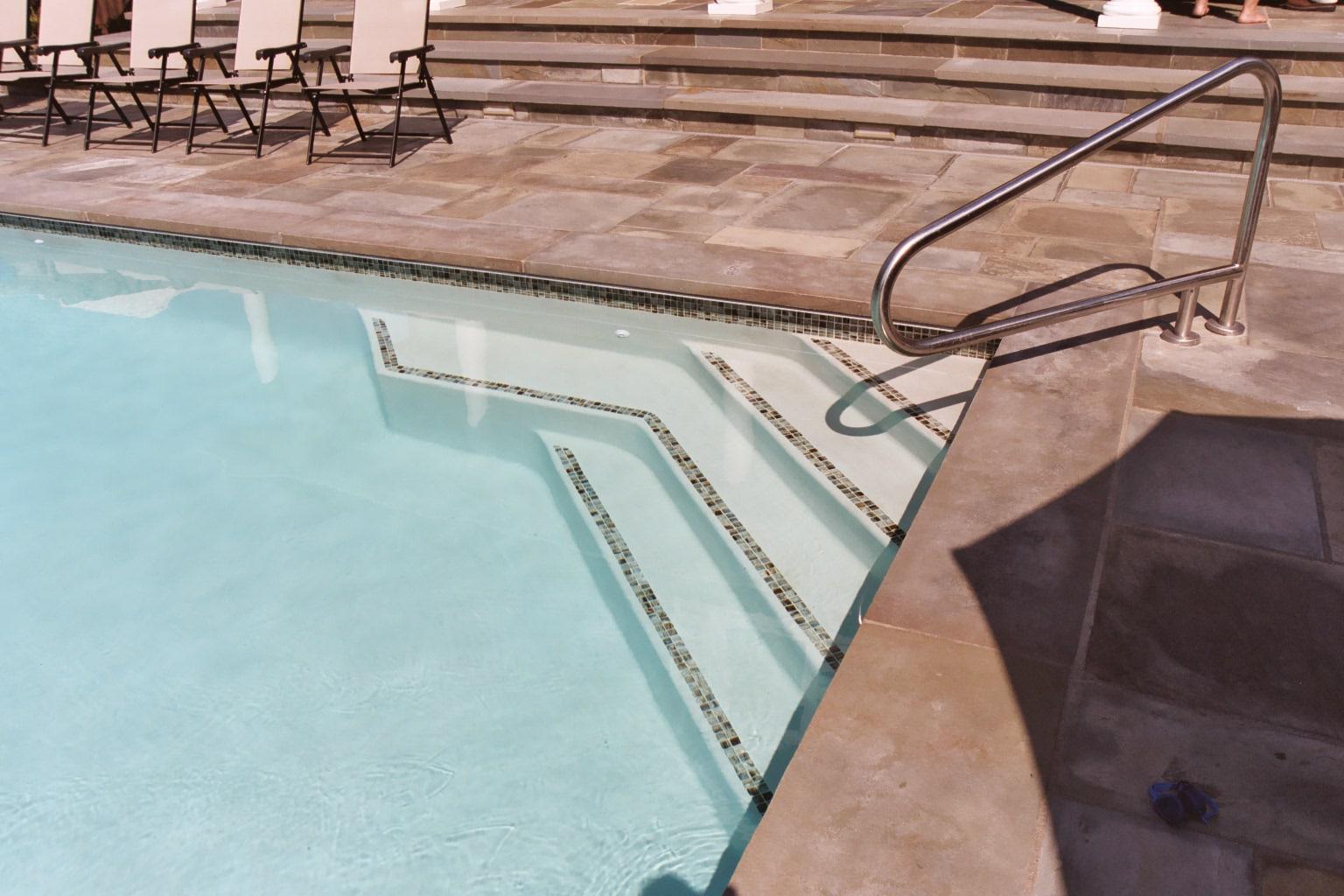Pool Entry Steps