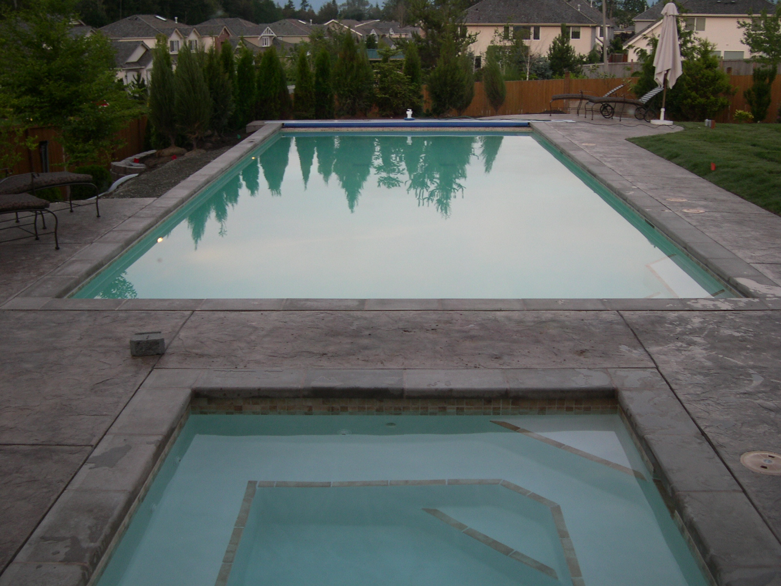 Story of a Custom Built Pool and Spa: See Each Step