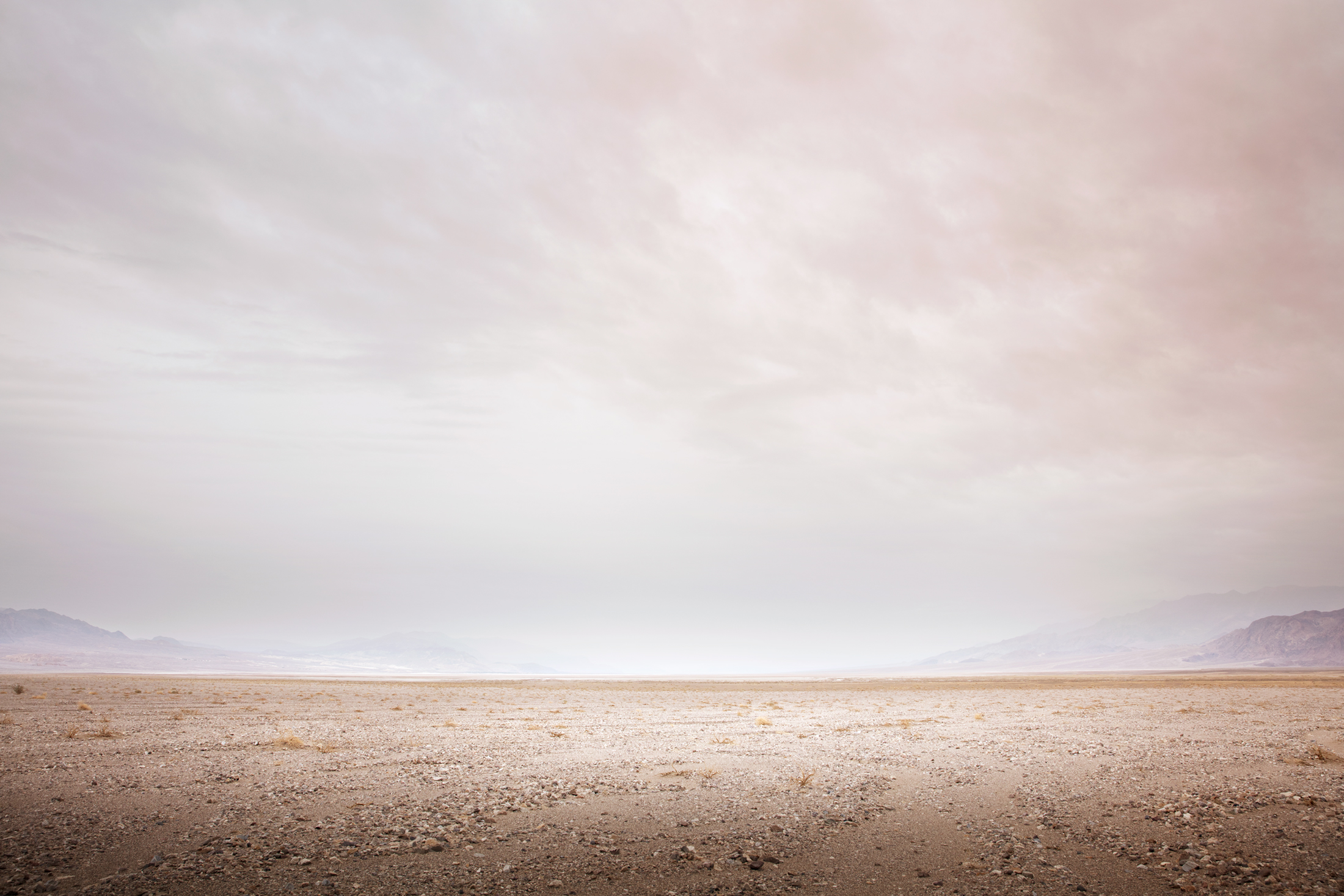 3) Infinity Series #2636, Death Valley. Photograph, 32X48 inches, 2018.