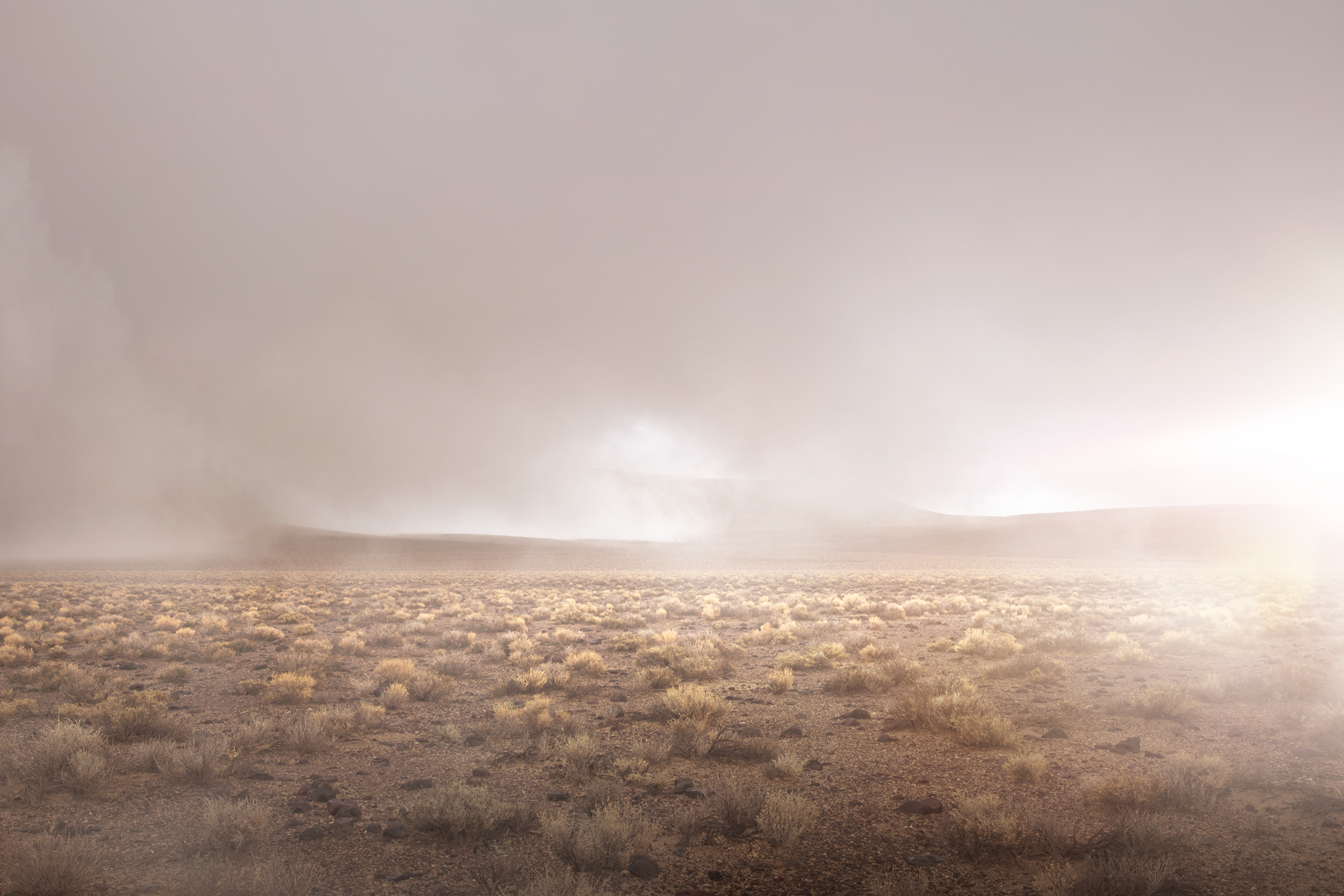 4) Infinity Series #2681, Death Valley. Photograph, 32X48 inches, 2018.