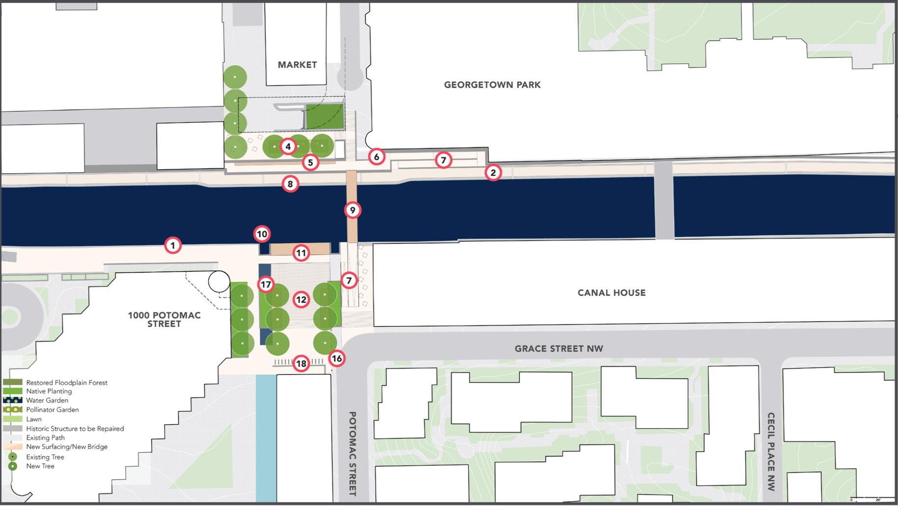 The Market Plazas - Option A