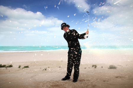 Rory finds his feet at the Arabian Gulf's first and only beach front golf club - Low Res.jpg