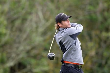 Birr's Stephen Grant is just two shots off the lead entering the final round of the Alps Tour's Open International de Rebetz.