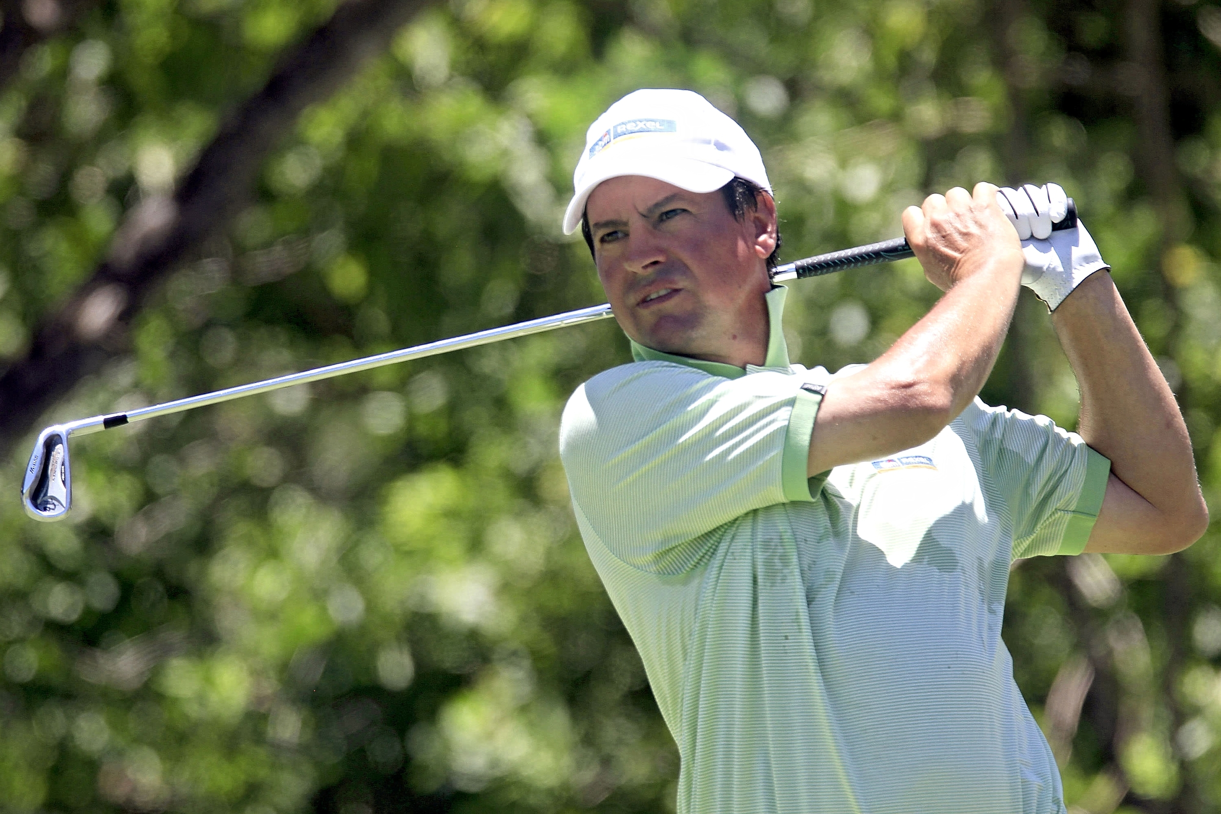 Miguel Angel Martin leads in Mauritius. Picture © Getty Images