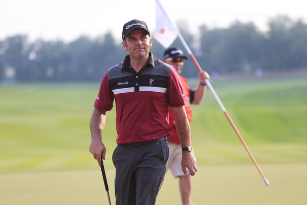 Paul McGinley was pleased with his 68.  Picture: Eoin Clarke www.golffile.ie
