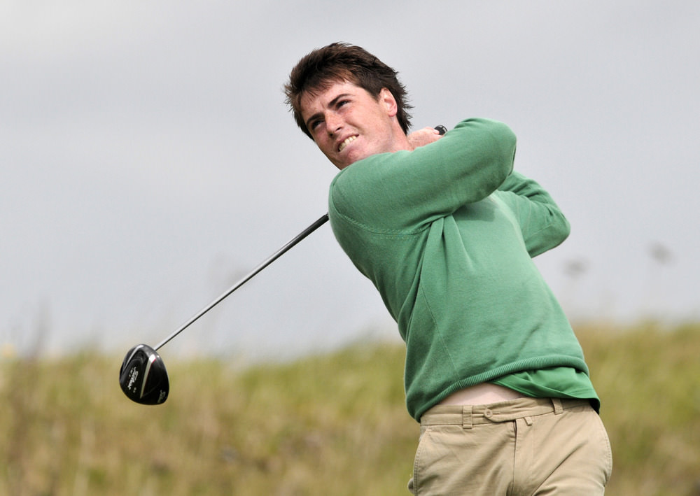 Ballymena's Dermot McElroy is just two shots off the lead following his opening 66 in the Free State Vodacom Amateur Stroke Play Open Championship. Archive picture by Pat Cashman  www.cashmanphotography.ie